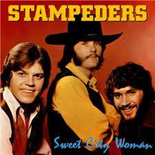 STAMPEDERS, The - Sweet City Woman