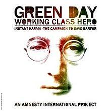 GREEN DAY - Working Class Hero -JL +